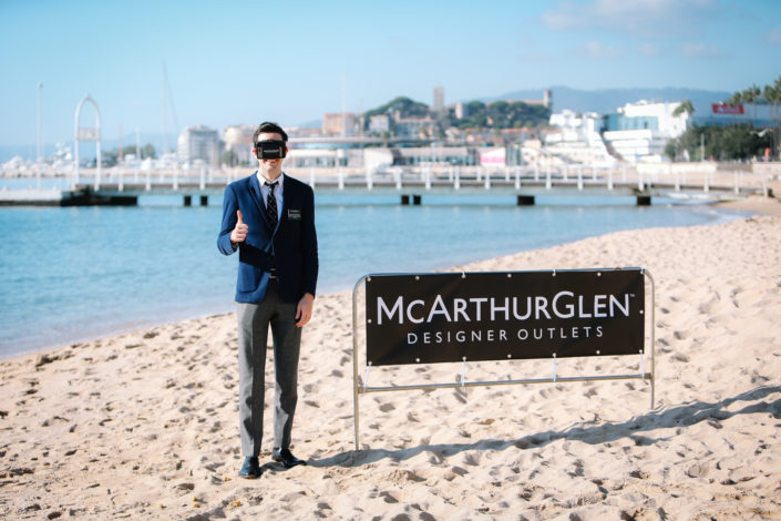 Shooting photo corporate MAPIC Cannes Côté d'azur
