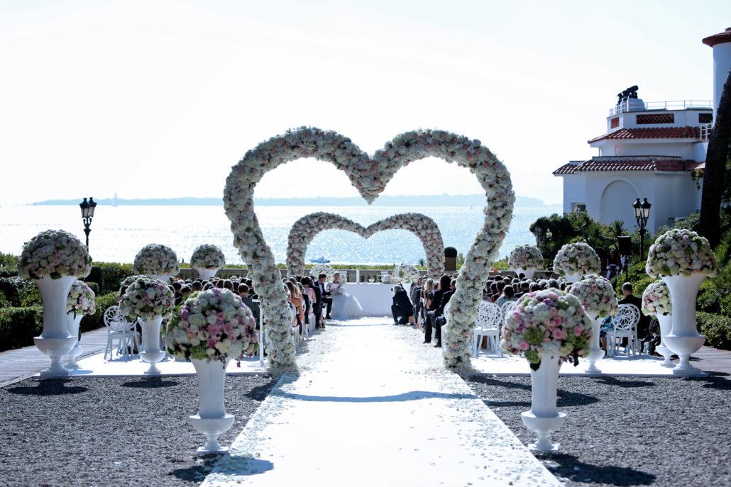 Eden Roc Mariage Cap d'Antibes